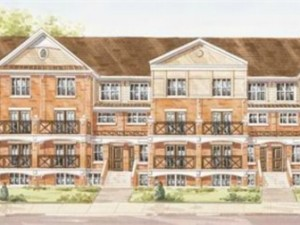 Waterlilies Phase 3 townhouses drawing